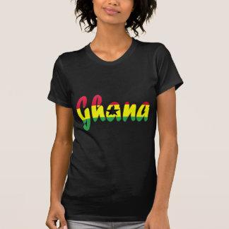 T-shirt de drapeau du Ghana