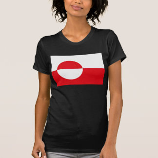T-shirt de drapeau du Groenland