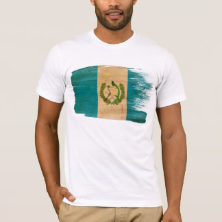 T-shirt de drapeau du Guatemala