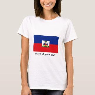 T-shirt de drapeau du Haïti