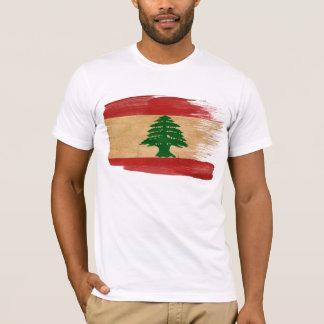 T-shirt de drapeau du Liban