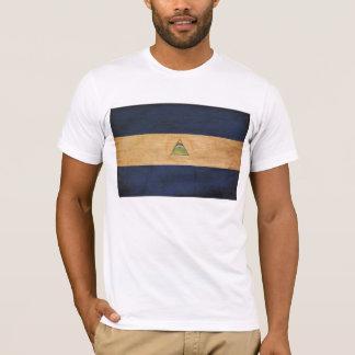 T-shirt de drapeau du Nicaragua