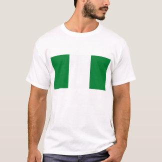 T-shirt de drapeau du Nigéria