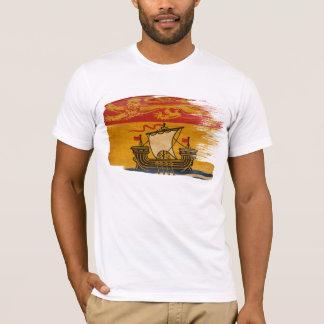 T-shirt de drapeau du Nouveau Brunswick