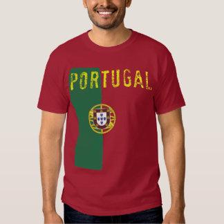 T-shirt de drapeau du Portugal