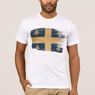 T-shirt de drapeau du Québec