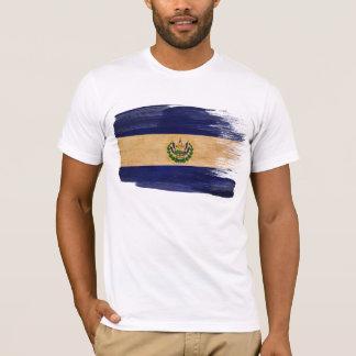 T-shirt de drapeau du Salvador