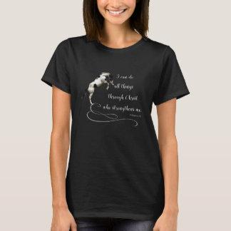 T-shirt de élevage de cheval des Philippiens 13 de