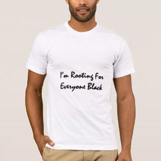T-shirt de enracinement