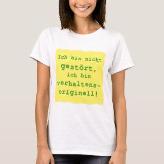 T-shirt de façon originale