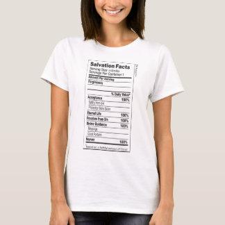 T-shirt de faits de salut