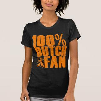 T-shirt de fan de Néerlandais de 100%