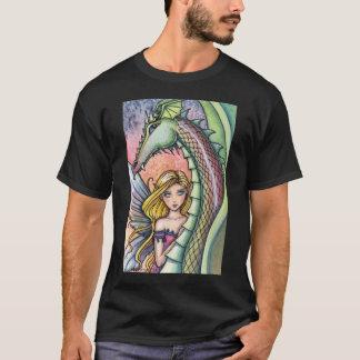 T-shirt de fée et de dragon