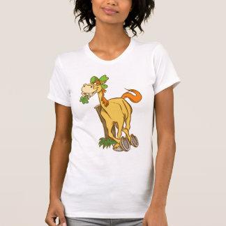 T-shirt de femmes de jour de Cheval-St Patrick