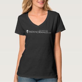 T-shirt de femmes de V-Cou de PoisonApple*