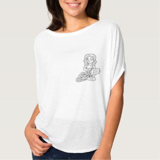 T-shirt de femmes de Verseau