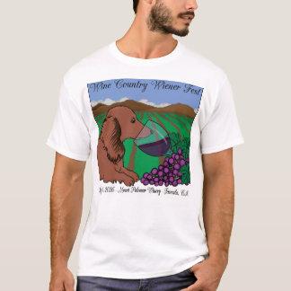 T-shirt de Fest de saucisse de pays de vin 2016
