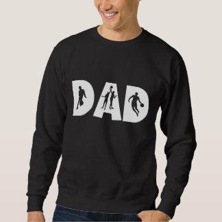 T-shirt de fête des pères de papa de basket-ball