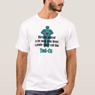 T-shirt de fête des pères de Tad-Cu (béni en