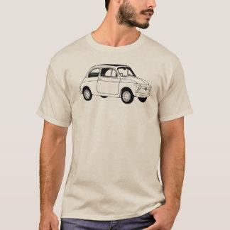 T-shirt de Fiat 500 (Cinquecento)