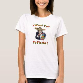 T-shirt de fiesta de Cinco Sammy des femmes