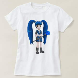 T-shirt de fille d'anime
