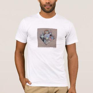 T-shirt de fille de chimie
