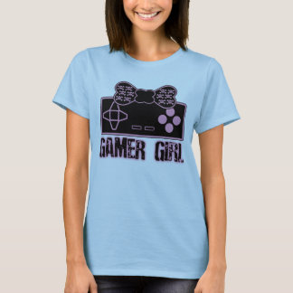 T-shirt de fille de Gamer