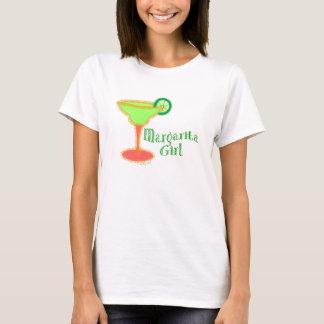 T-shirt de fille de margarita