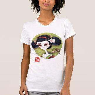 T-shirt de fille de Sakura
