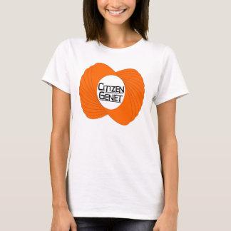 T-shirt de filles de Genet de citoyen