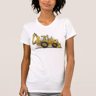 T-shirt de filles de pelle rétro