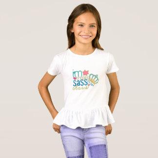 T-shirt de filles, premier jour d'école,