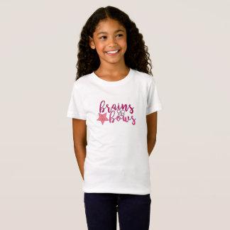 T-shirt de filles, premier jour d'école, cerveaux