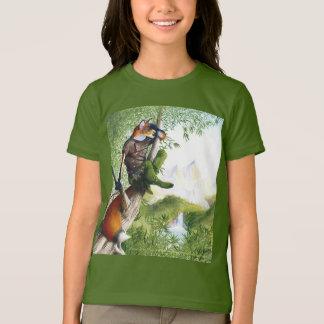 T-shirt de flambage de Fox de traînée