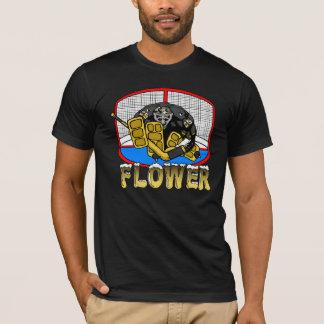 T-shirt de fleur de pingouin