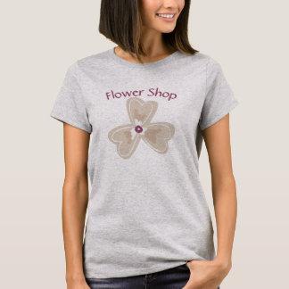 T-shirt de fleuriste personnalisable