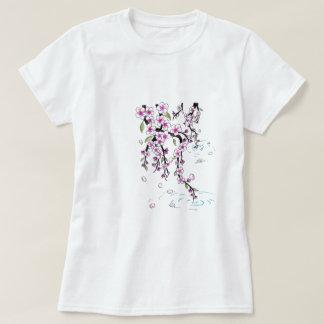 T-shirt de fleurs de cerisier
