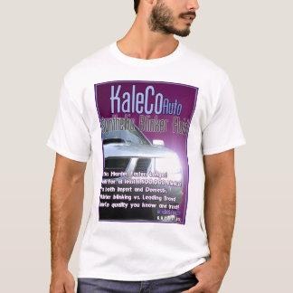 T-shirt de fluide de feu clignotant