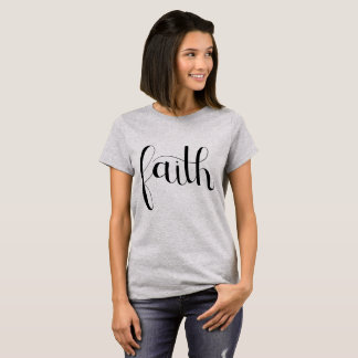T-shirt de foi
