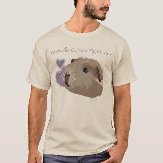 T-shirt de fonctionnaire de délivrance de cobaye