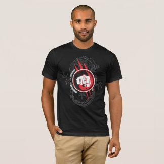 T-shirt de fonctionnaire de films d'action d'arts