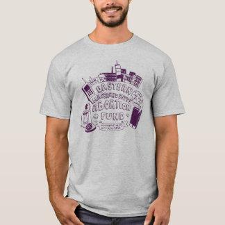 T-shirt de fonds d'AME (le classement par taille