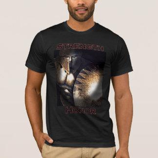 T-shirt de force et d'honneur