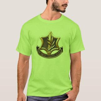 T-shirt de forces de défense de l'Israël