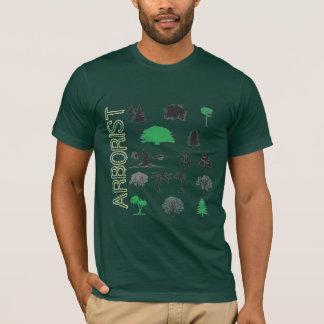 T-shirt de Forest Green d'amants d'arbre