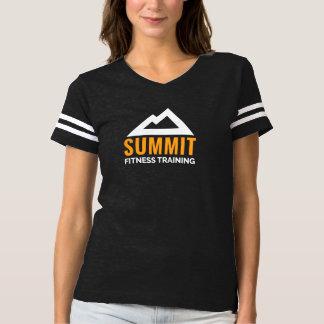 T-shirt de formation de forme physique du sommet