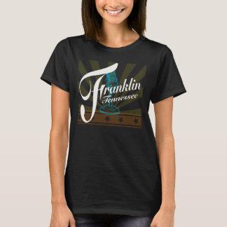T-shirt de Franklin Tennessee avec les rayons et