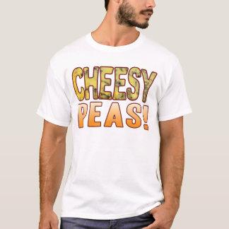 T-shirt De fromage bleu de pois