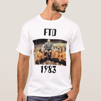 T-shirt de gain de titre de FTD 1983